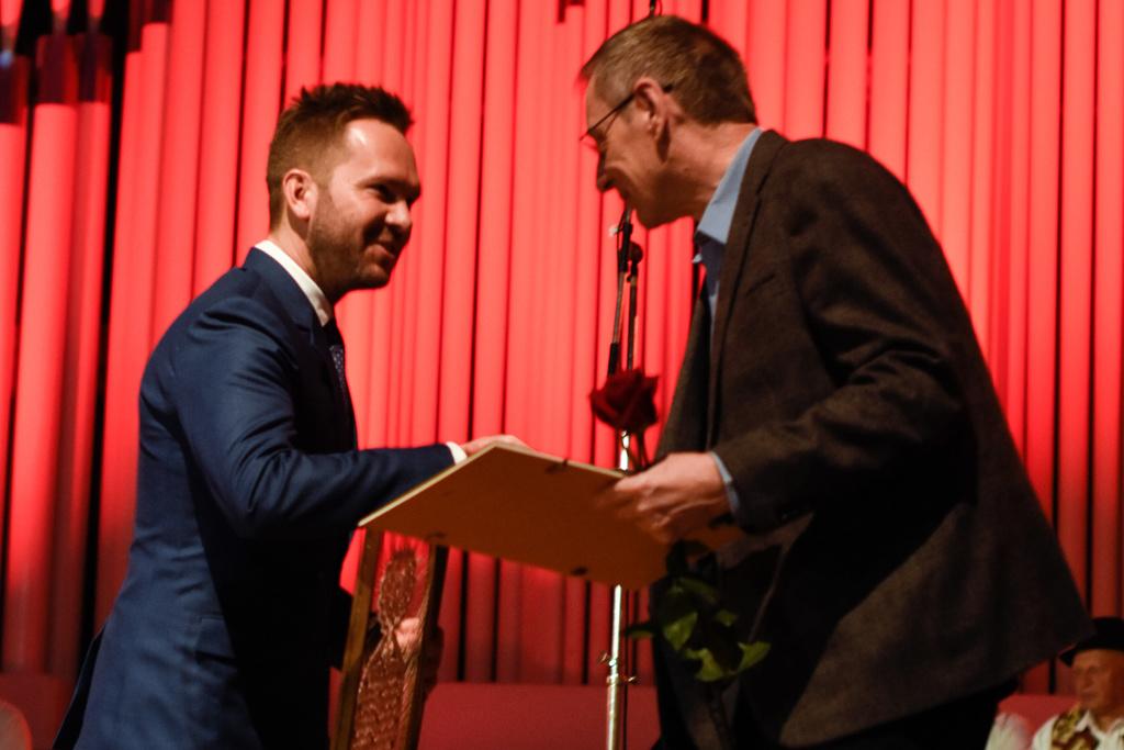 Prize Awarding Ceremony, P. Browne (Ireland) special prize
