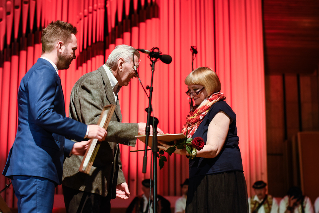 Prize Awarding Ceremony, L. Osipova (Russia) special prize