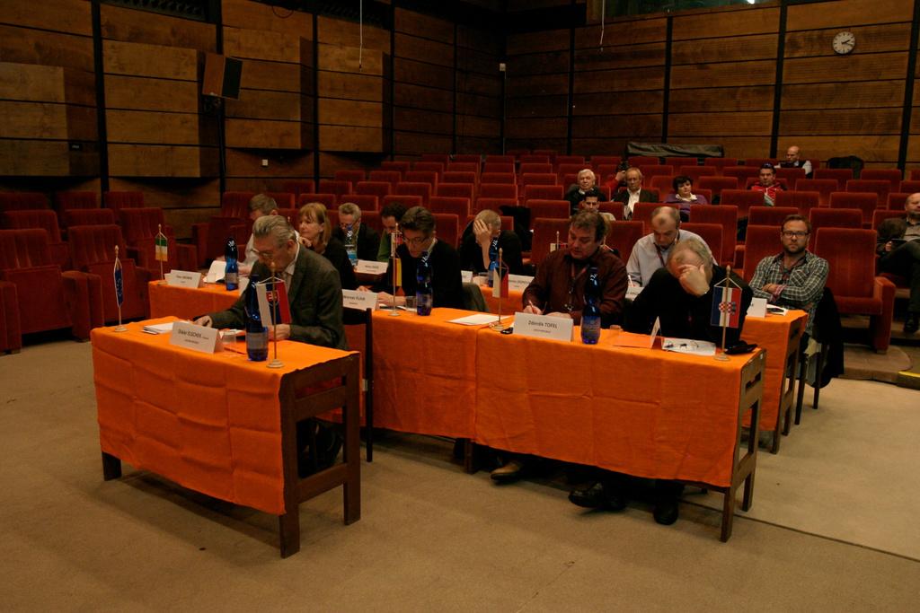 International Jury's Work